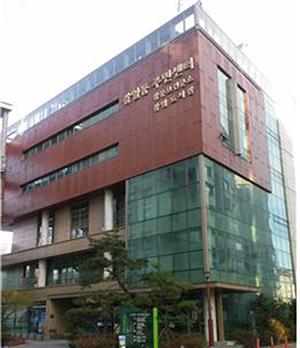 강일동 주민센터 건물 사진